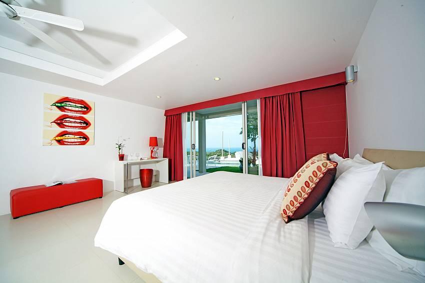 Bedroom views with shelves Of Summitra Villa No.3 (Six)