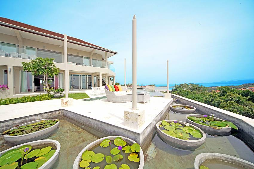 Everything made to enjoy the paradise at Summitra Villa No. 3 in Koh Samui