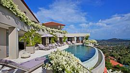 Summitra Panorama Villa | 5 Bed Hillside Pool Residence in Koh Samui