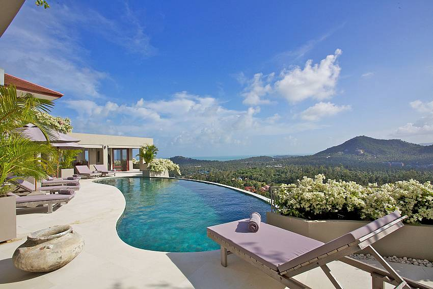 Your private paradise above Choeng Mon Beach Samui Summitra Panorama Villa