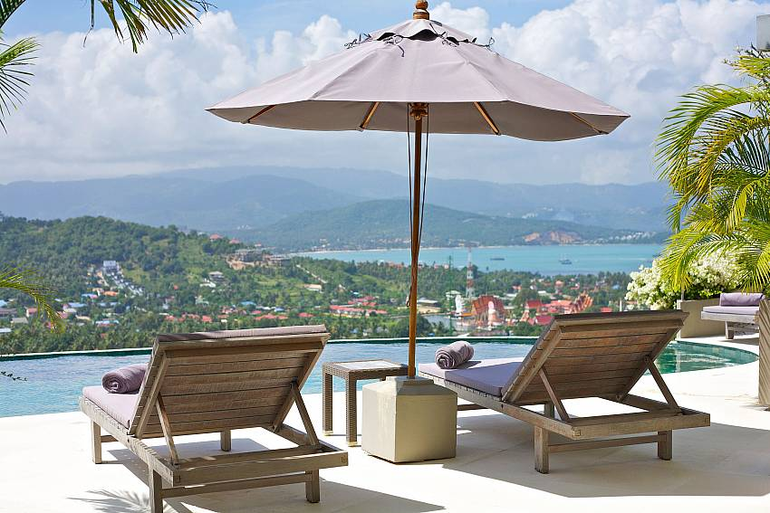 Your dream destination above Choeng Mon beach in Samui is Summitra Panorama Villa
