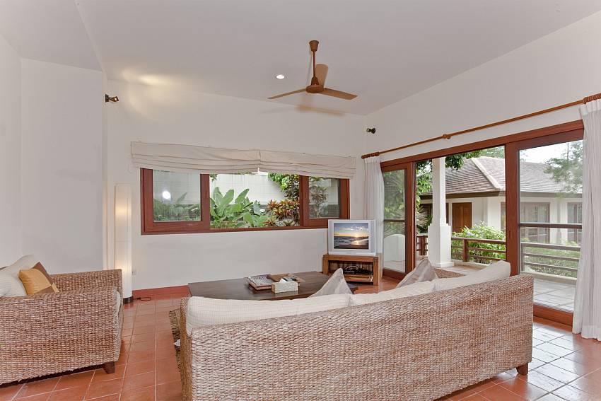 Living room Of Summitra Pavilion Villa No.10