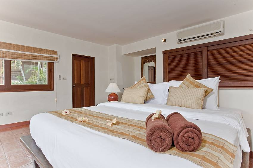 Bedroom views Of Summitra Pavilion Villa No.10 (Third)
