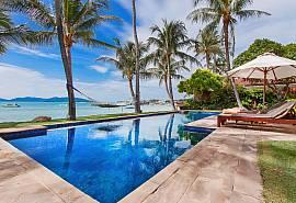 Bangrak Beachfront Villa - Villa de vacances de rêve à Samui