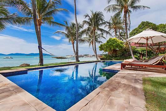 Аренда виллы на Самуи: Bangrak Beachfront Villa, 7 Спален. 95783 бат в день