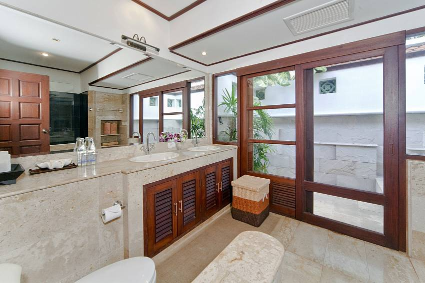 Basin wash with toilet views Of Bangrak Beachfront Villa