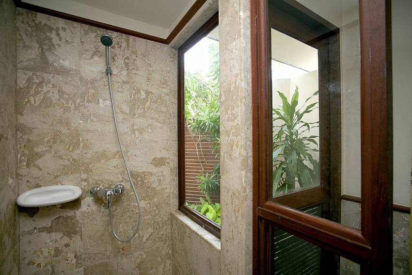 Shower views Of Summitra Pavilion Villa No.3