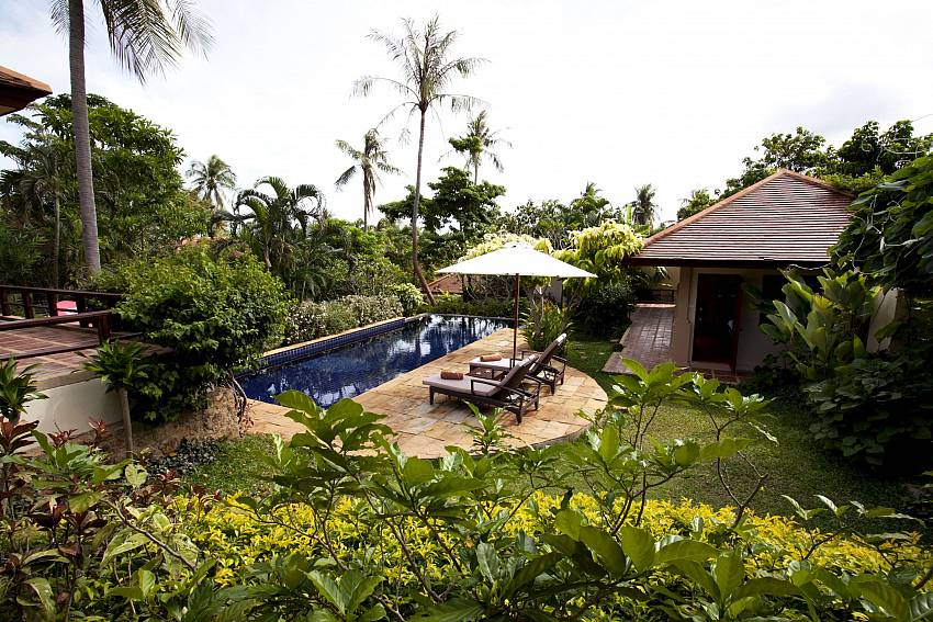Summitra Pavilion Villa No. 3 the perfect holiday retreat in Samui