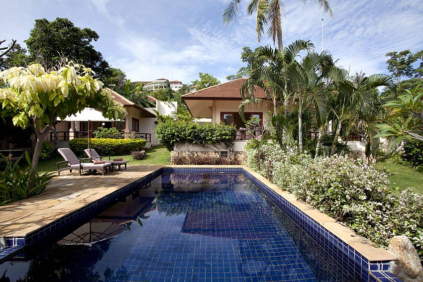 Your private pool at Summitra Pavilion Villa No. 3 in Koh Samui