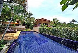 Summitra Pavilion Villa No.7 - Villa tropical 3 chambres avec piscine à Koh Samui