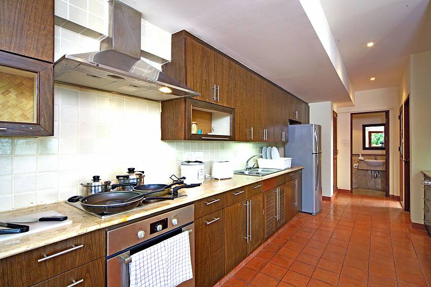 Kitchen room Of Summitra Pavilion Villa No.7