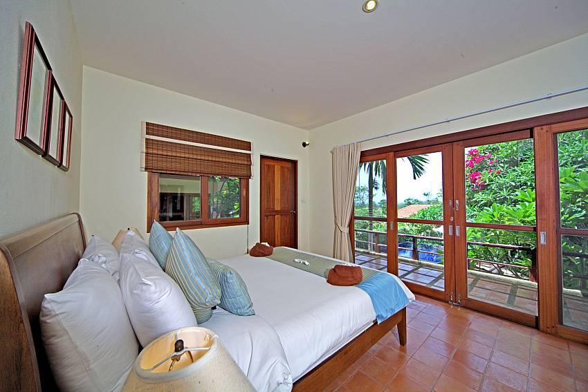 Bedroom see views Of Summitra Pavilion Villa No.7 (First)
