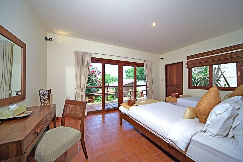 Bedroom with vanity Of Summitra Pavilion Villa No.7 (Second)