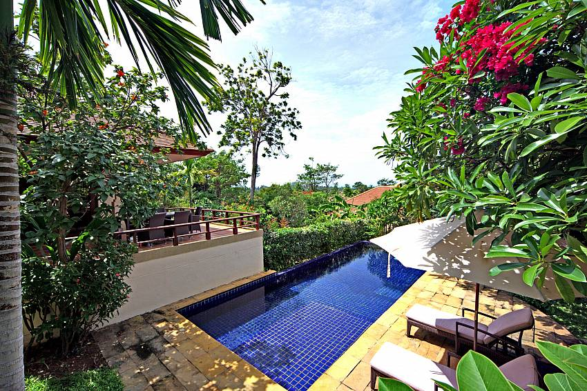 Summitra Pavilion Villa No. 7 is your 3 bed paradise in Koh Samui