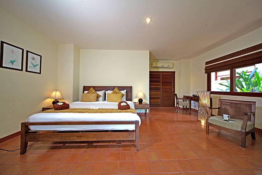 2. king-size bedroom at Summitra Pavilion Villa No. 7 in Koh Samui