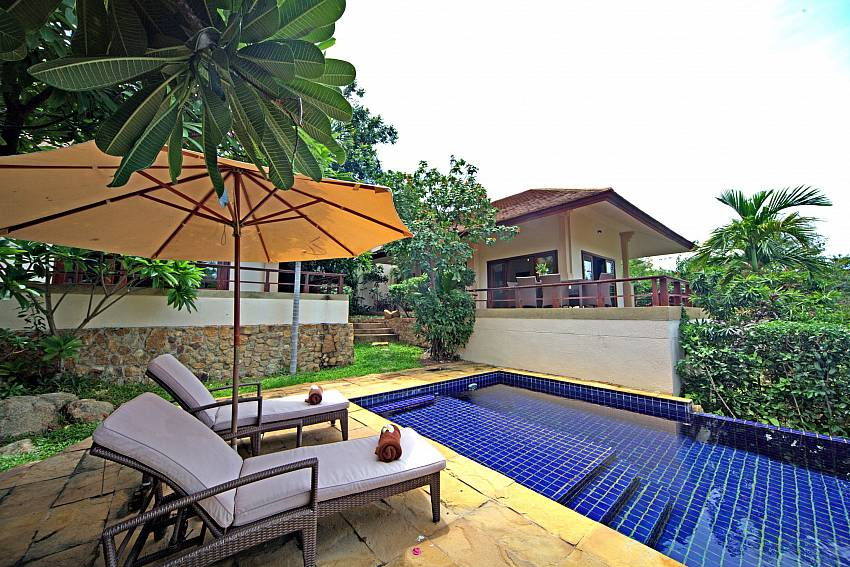Relax at the peaceful settings of Summitra Pavilion Villa No. 7 in Samui