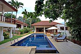 Summitra Pavilion Villa is the Private Hillside Pool Villa for your holiday in Koh Samui Thailand