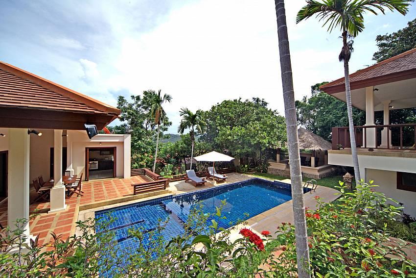 A great holiday in Koh Samui begins at Summitra Pavilion Villa No. 9