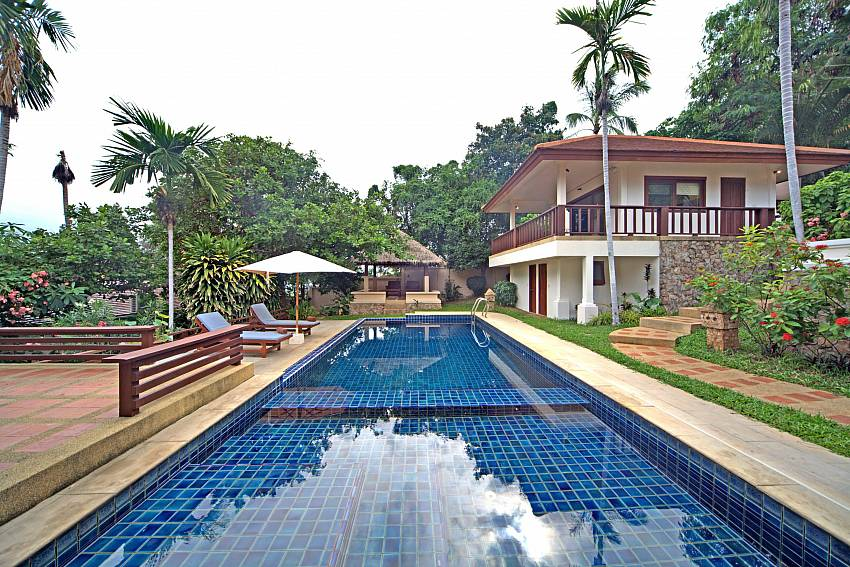 Summitra Pavilion Villa No. 9 with private pool in Koh Samui