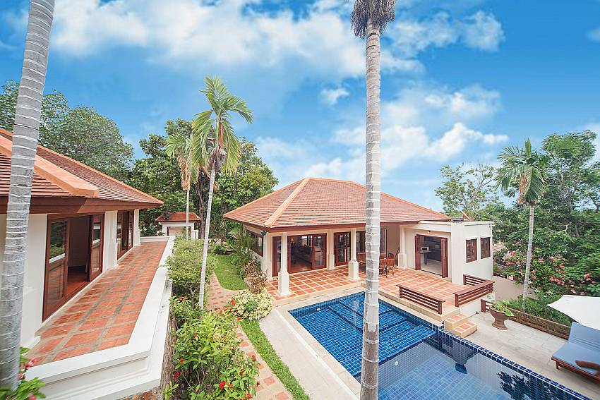 Summitra Pavilion Villa No. 9 is the perfect Samui holiday rental