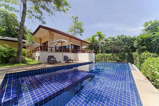 Аренда виллы на Самуи: Summitra Pavilion Villa No. 5 - Samui Garden View Holiday Home on Private Estate, 3 Спальни. 16123 бат в день
