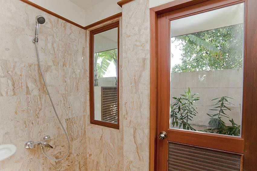 Shower views Of Summitra Pavilion Villa No. 5
