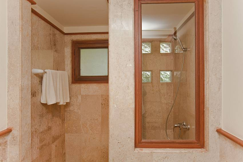 Shower Of Summitra Pavilion Villa No. 5