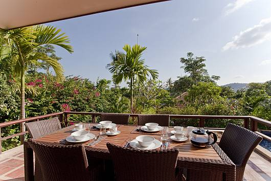 Аренда виллы на Самуи: Summitra Pavilion Villa No. 5 - Samui Garden View Holiday Home on Private Estate, 3 Спальни. 11562 бат в день
