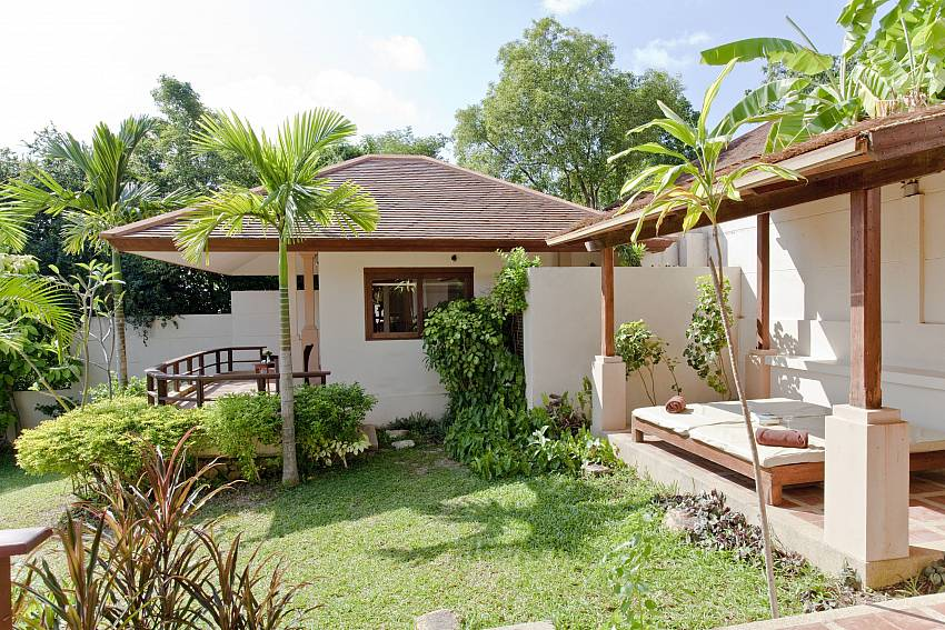 Summitra Pavilion Villa No. 5 idyllic placed 3 bed holiday retreat in Samui
