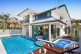 6Br Family Pool Villa 1km from Jomtien Beach, South Pattaya
