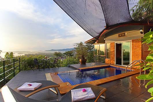Krabi Sunset Hill Villa 2 Bedrooms House  For Rent  in Krabi