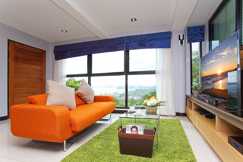 Living room views Of Krabi Sunset Hill Villa