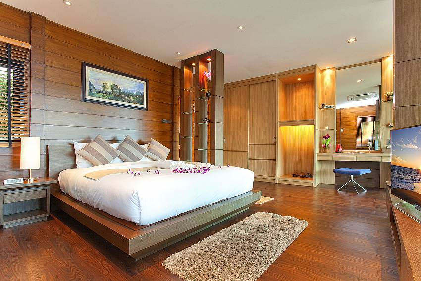 Bedroom Built-in Of Krabi Sunset Hill Villa (First)