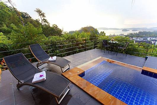 Аренда виллы в Краби: Krabi Sunset Hill Villa, 2 Спальни. 17497 бат в день
