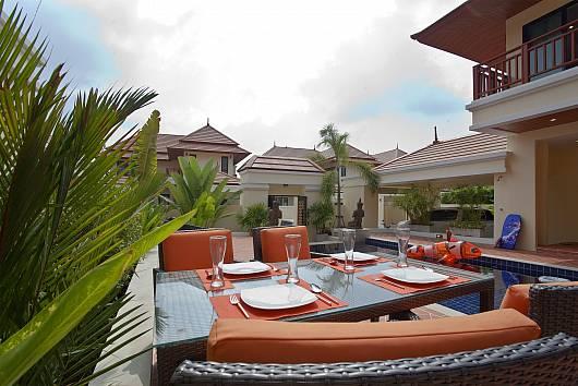 Аренда виллы в Паттайе: Villa Oranuch, 3 Спальни.  бат в день
