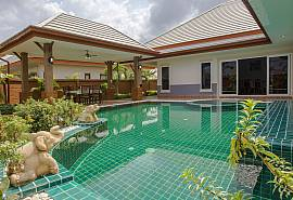 Thammachat P3 Victoria | 3 Bedroom Pattaya Pool Villa in Bangsaray