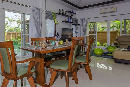 Rent Pattaya Villa: Thammachat Victoria Villa, 3 Bedrooms. 8085 baht per night