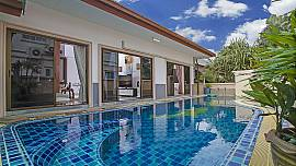 Thammachat Alese 3 Bedroom Private Pool Villa On Estate in South Pattaya