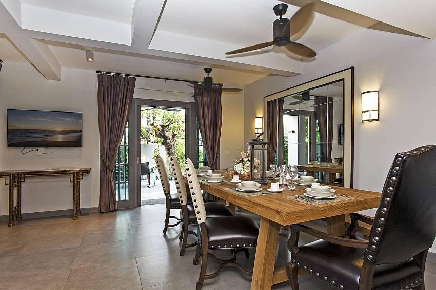 Dinning table views Of Sala Retreat Villa