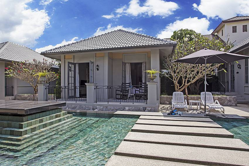 The house with swimming pool Of Sala Retreat Villa