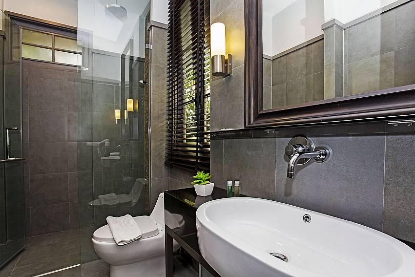 Basin wash with toilet Of Sala Retreat Villa