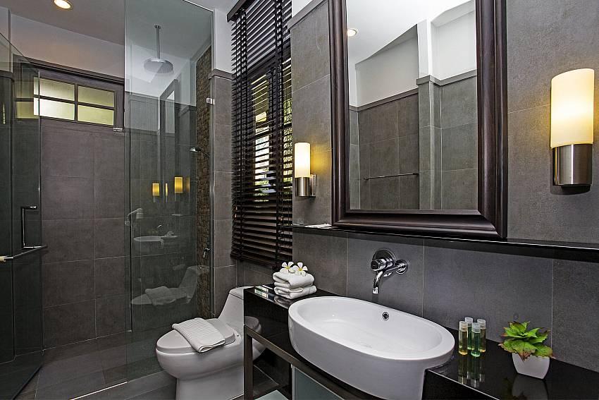 Toilet with basin wash Of Sala Retreat Villa