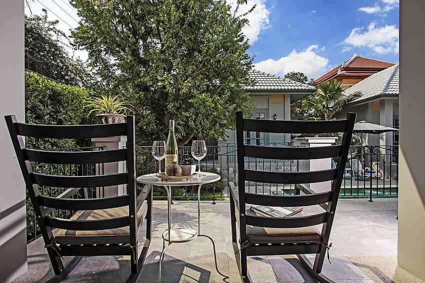 Beverage table outdoor Of Sala Retreat Villa