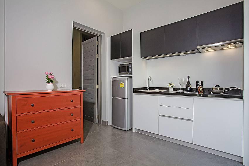 Lockers near the kitchen Of Sala Retreat Villa