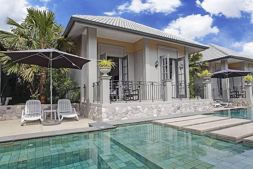 House with swimming pool Of Sala Retreat Villa