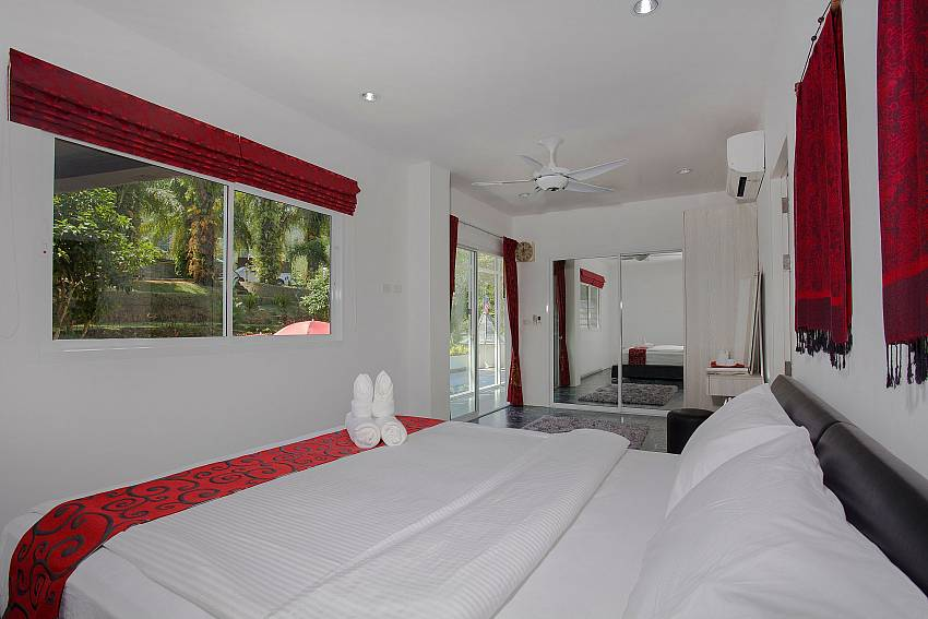 Bedroom views Of Big Buddha Hill Villa (Four)