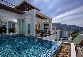 Kata Horizon Villa B1 |  4 Bed Pool House in Kata Phuket