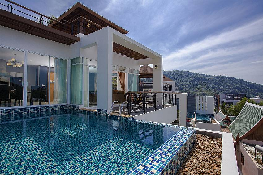 House with swimming pool Of Kata Horizon Villa B1