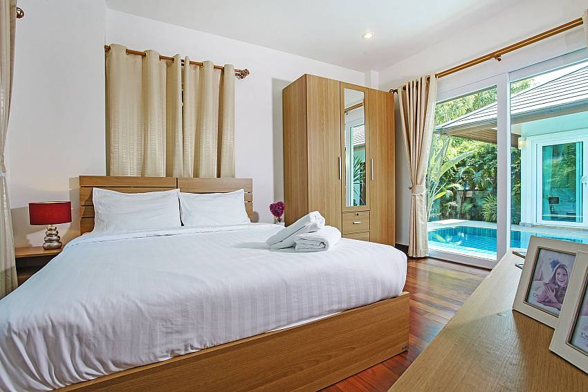 Bedroom near the pool Of Rossawan Pool Villa (Second)