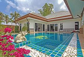 Thammachat P3 Vints 141 | 4 Bed Pool Villa in Bangsaray near Pattaya